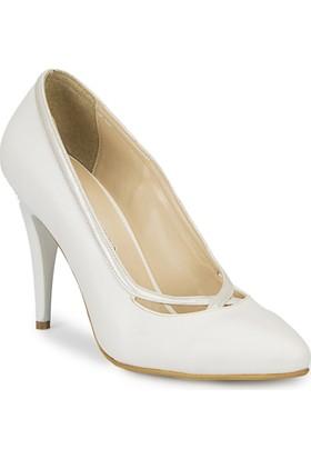 Polaris 81.311204.Z Beyaz Kadın Ayakkabı