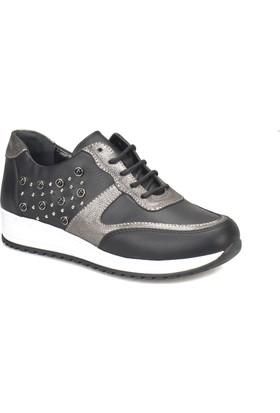 Polaris 81.311398.Z Siyah Kadın Ayakkabı