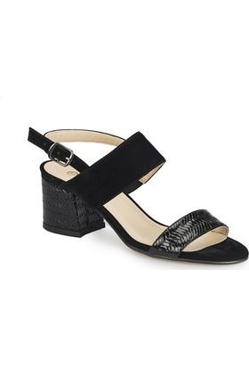Polaris 81.311266.Z Siyah Kadın Sandalet