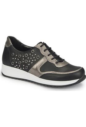 Polaris 81.311401.Z Siyah Kadın Ayakkabı