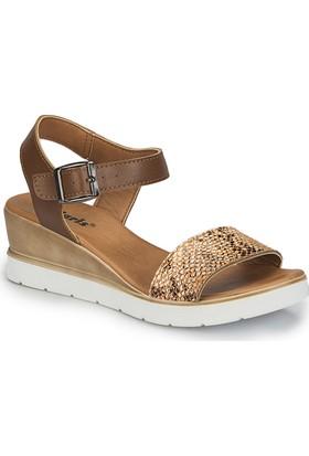 Polaris 81.311317.Z Turuncu Kadın Sandalet