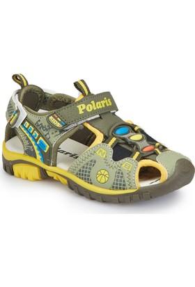 Polaris 81.508193.P Haki Erkek Çocuk Athletic Sandalet