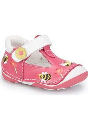 Polaris 81.510003.I Fuşya Kız Çocuk Deri Sneaker Ayakkabı
