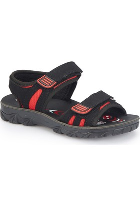 Polaris 81.510358.F Siyah Erkek Çocuk Athletic Sandalet
