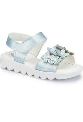 Polaris 81.510107.P Mavi Kız Çocuk Basic Sandalet