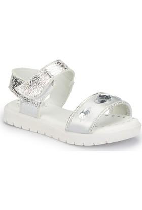 Polaris 81.510089.P Gri Kız Çocuk Basic Sandalet