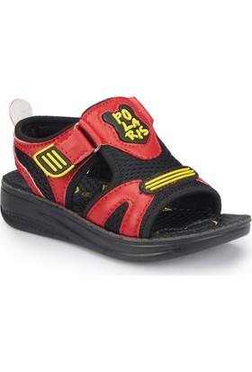 Polaris 81.510243.P Kırmızı Erkek Çocuk Basic Sandalet