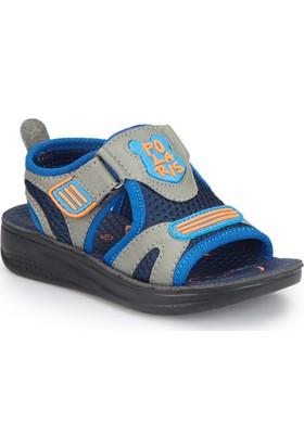 Polaris 81.510243.P Gri Erkek Çocuk Basic Sandalet