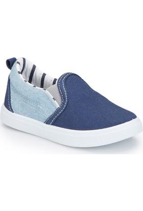 Polaris 81.510338.B Mavi Erkek Çocuk Slip On Ayakkabı