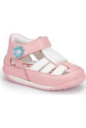 Polaris 81.510015.I Pembe Kız Çocuk Deri Sneaker Ayakkabı