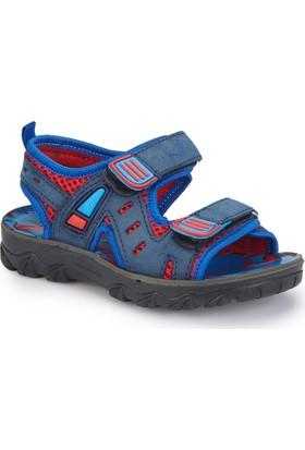 Polaris 81.510241.P Lacivert Erkek Çocuk Athletic Sandalet