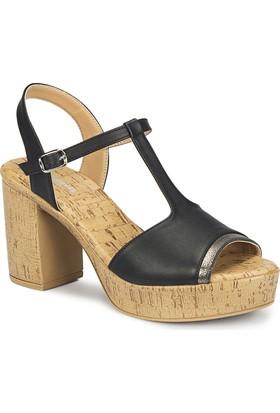 Polaris 81.311290.Z Siyah Kadın Sandalet