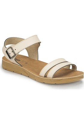 Polaris 81.158659.Z Bej Kadın Basic Comfort Sandalet