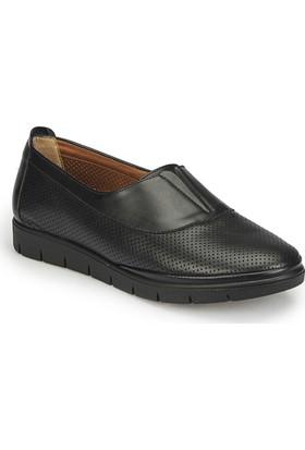 Polaris 81.158455.Z Siyah Kadın Basic Comfort Ayakkabı