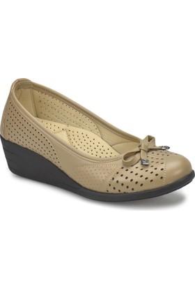 Polaris 81.158483.Z Bej Kadın Basic Comfort Ayakkabı