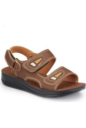 Polaris 81.509051.F Kahverengi Erkek Çocuk Basic Sandalet