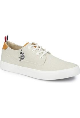 U.S. Polo Assn. Finde Beyaz Erkek Sneaker Ayakkabı