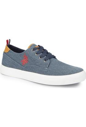 U.S. Polo Assn. Finde Lacivert Erkek Sneaker Ayakkabı