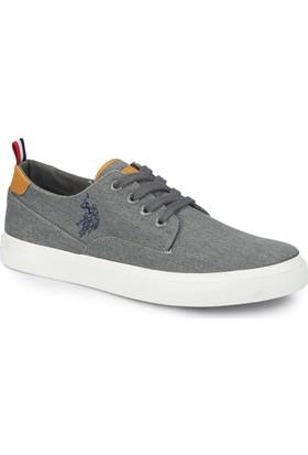 U.S. Polo Assn. Finde Siyah Erkek Sneaker Ayakkabı