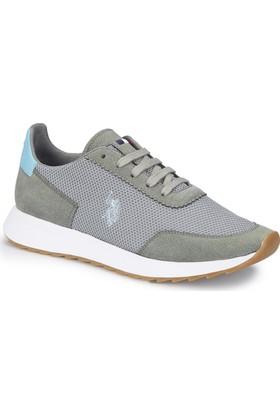U.S. Polo Assn. Munich Gri Erkek Sneaker Ayakkabı