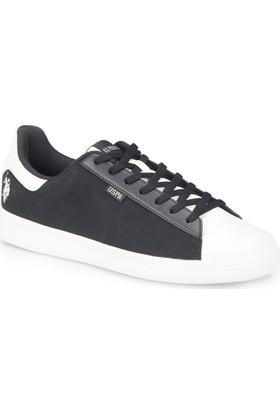 U.S. Polo Assn. Franco Lıght Siyah Erkek Sneaker Ayakkabı