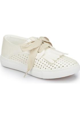 Polaris 81.510399.F Beyaz Kız Çocuk Sneaker Ayakkabı