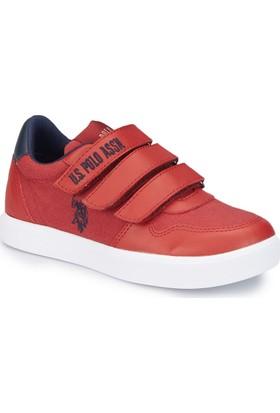 U.S. Polo Assn. Jog Kırmızı Erkek Çocuk Sneaker Ayakkabı