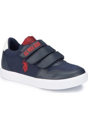 U.S. Polo Assn. Jog Lacivert Erkek Çocuk Sneaker Ayakkabı