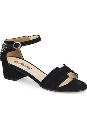 Polaris 81.311262.Z Siyah Kadın Sandalet