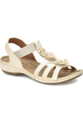 Polaris 81.157362.Z Bej Kadın Basic Comfort Sandalet