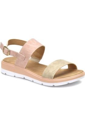 Polaris 81.157385.Z Pudra Kadın Basic Comfort Sandalet