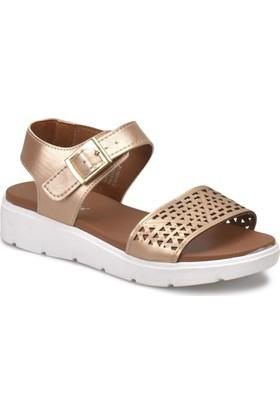 Polaris 81.157378.Z Bakır Rengi Kadın Basic Comfort Sandalet