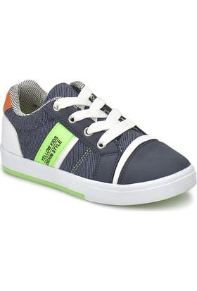 Yellow Kids Yk307.P Lacivert Erkek Çocuk Sneaker Ayakkabı