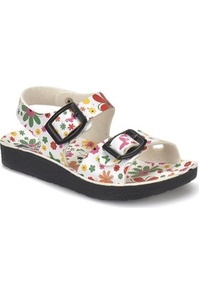 Seventeen Mına P Beyaz Kız Çocuk Basic Sandalet