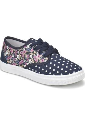 Seventeen Mıddy Lacivert Kız Çocuk Sneaker Ayakkabı
