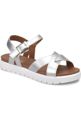Polaris 81.311538.Z Gümüş Kadın Sandalet