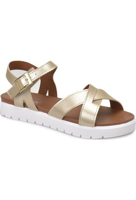 Polaris 81.311538.Z Bronz Kadın Sandalet