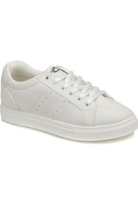 Torex Plain Beyaz Erkek Sneaker Ayakkabı