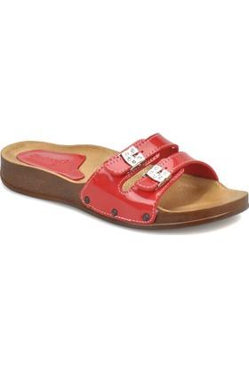 Polaris 81.157481.Z Kırmızı Kadın Basic Comfort Terlik