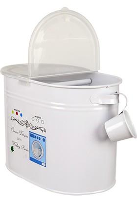 Evstyle Plastik Kapak Bölmeli Deterjan Kabı