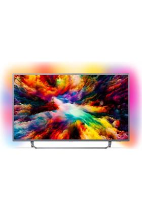 "Philips 50PUS7303 50"" 127 Ekran Ambilight Ultra İnce 4K UHD Smart LED TV"