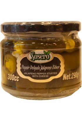 Sosero Peynir Dolgulu Jalapeno Biber 300 Cc