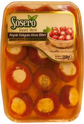 Sosero Peynir Dolgulu Kiraz Biber 300 Gr