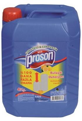 Proson Bulaşık Deterjanı 4 Lt Elde Yıkama