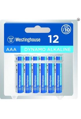 Westinghouse Alkalin İnce Pil 12Li Blister Ambalaj