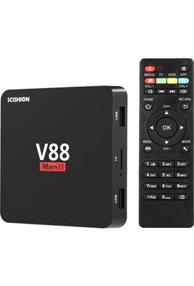 Scıshıon V88 Mars İi 4K Ultra Hd Android Tv Box