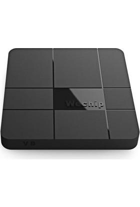 Wechip V8 2GB RAM + 16GB ROM Kodi 17.3 Yüklü Android 7.1 TV Box