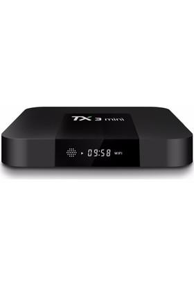 Tanix TX3 Mini Android 7.1 2/16 GB Kodi 17.4 Yüklü Android Tv Box