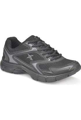 Kinetix Nesto Siyah Koyu Gri Erkek Koşu Ayakkabısı