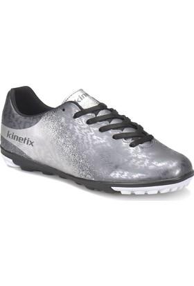 Kinetix Menez Turf Gümüş Gri Beyaz Erkek Halı Saha Ayakkabısı